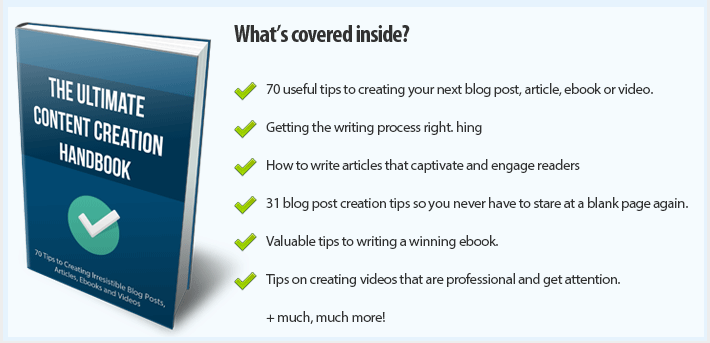 Get FREE Instant Access To The Ultimate Content Creation Handbook - 2020 Edition