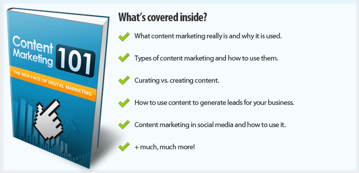 Get FREE Instant Access To Content Marketing 101 - 2018 Edition